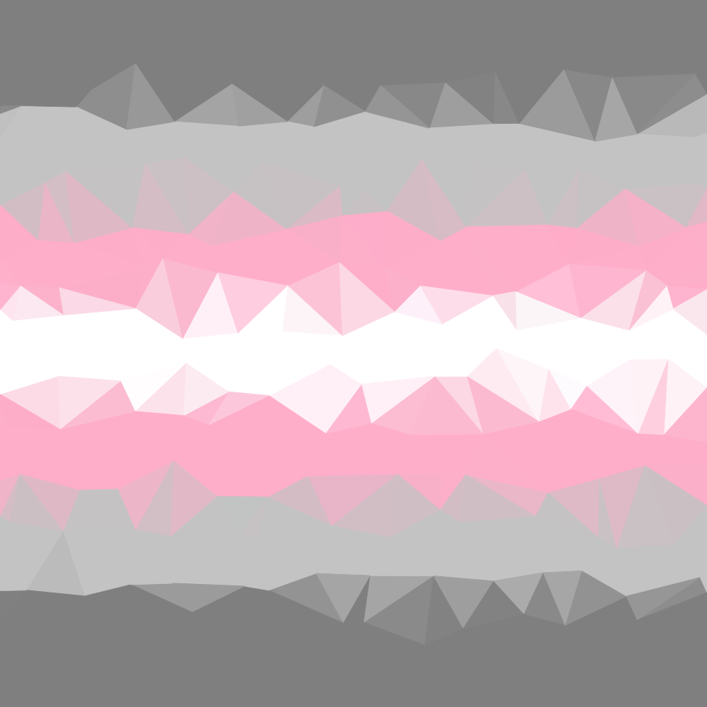 Abstract Demiboy Pride Flag